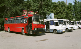 Przystanek autobusowy w Sevastopol Zdjęcia Stock