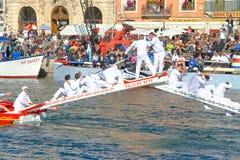 Przystanek w Sete †'Morski tradycj festiwal obrazy stock