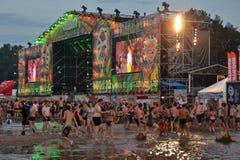 Przystanek Woodstock Στοκ Εικόνες