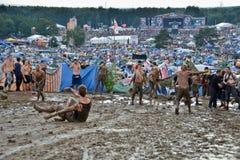 Przystanek Woodstock Στοκ εικόνα με δικαίωμα ελεύθερης χρήσης