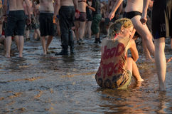 Przystanek Woodstock Stock Afbeelding