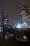 przystani oude Rotterdam Fotografia Stock
