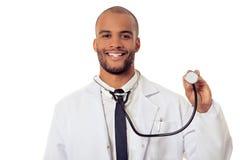 Przystojna Afro amerykanina lekarka Zdjęcie Stock