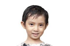 Przystojna Azjatycka chłopiec. Obraz Stock