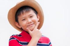 Przystojna azjatykcia chłopiec. obrazy stock