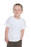 Przystojna preschool chłopiec zdjęcie royalty free