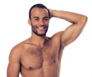 Przystojnego Afro Amerykański mężczyzna Obrazy Royalty Free
