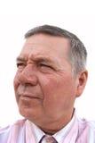 przystojnego mężczyzna starszy biel zdjęcie stock