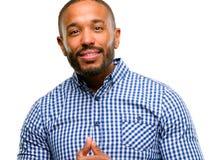 przystojny Amerykanin afrykańskiego pochodzenia mężczyzna zdjęcia royalty free
