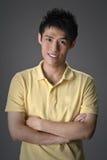 przystojny azjatykci facet Zdjęcie Stock
