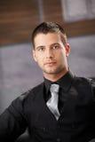 przystojny biznesmena portret Fotografia Stock