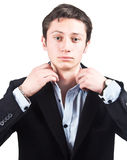 przystojny biznesmena portret Fotografia Royalty Free