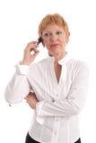 przystojny bizneswoman dojrzałe Zdjęcia Stock