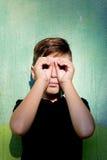 przystojny chłopak portret obrazy royalty free