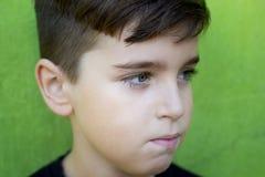 przystojny chłopak portret obraz stock