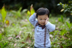 przystojny chłopiec zdjęcie royalty free
