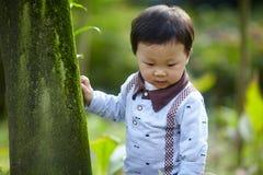 przystojny chłopiec obraz stock