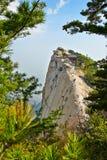 Przystojny huashan zachodni peak_xian_shanxi Obraz Stock