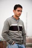 przystojny indyjski mężczyzna Fotografia Stock