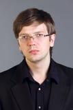 Przystojny inteligentny mężczyzna Fotografia Stock