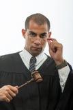 Przystojny latynoski sędzia obrazy stock