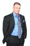 przystojny mężczyzna biznes Fotografia Royalty Free