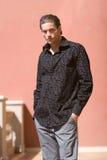 przystojny mężczyzna modna fotografia stock