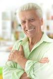 przystojny mężczyzna portreta senior Zdjęcie Stock