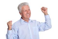przystojny mężczyzna portreta senior Zdjęcie Royalty Free