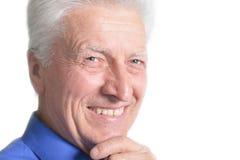 przystojny mężczyzna portreta senior Obraz Stock