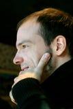 przystojny mężczyzna profil Zdjęcie Stock