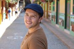 Przystojny mężczyzna w Ameryka Południowa obraz stock