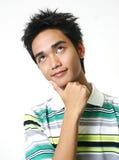 Przystojny młody azjatykci facet 9 Zdjęcia Royalty Free