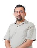 Przystojny mądrze ufny indyjski korporacyjny kierownik, Obrazy Royalty Free