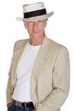 przystojny męski senior Fotografia Royalty Free