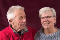 przystojny starszy pary Obrazy Royalty Free