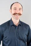 Przystojny uśmiechnięty mężczyzna Zdjęcie Stock
