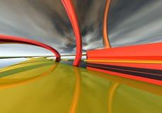 przyszła highway ilustracji