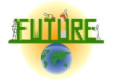 przyszłość Fotografia Royalty Free