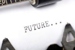 przyszłość. Fotografia Stock