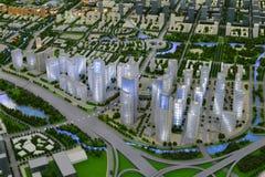 Przyszłość krajobraz xiangan miasteczko amoy miasto, porcelana Fotografia Royalty Free