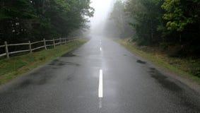 przyszłość mgłowa Fotografia Stock