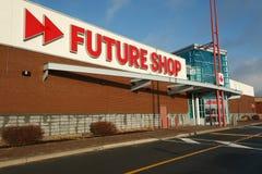 przyszłość sklep zdjęcia royalty free