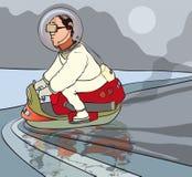 Przyszłość transport ilustracji