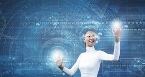 przyszłościowe technologie Zdjęcia Royalty Free