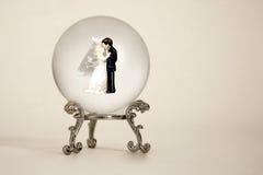 przyszłościowy ślub Zdjęcia Stock