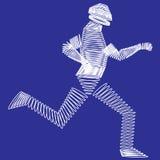 Przyszłościowy biegacz Obrazy Stock