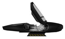 Przyszłościowy pojęcie samochód ilustracja wektor