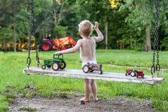 Przyszłościowy rolnik zdjęcia royalty free
