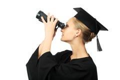 przyszłościowy spojrzenie fotografia stock